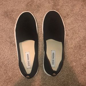 Steve Madden black sneakers